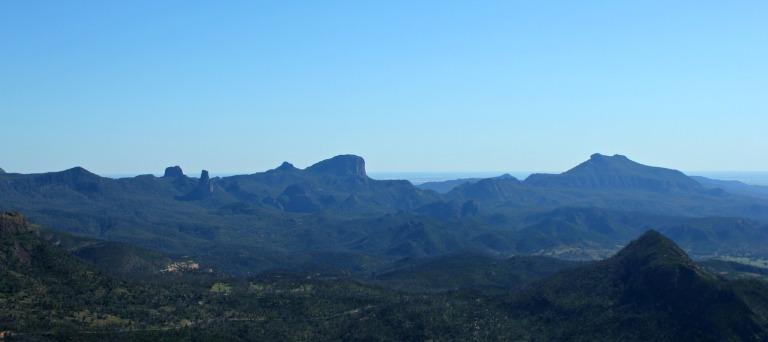 Warrumbungle panorama