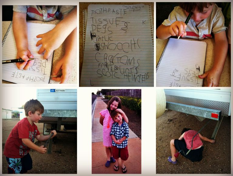 Longreach kids Collage